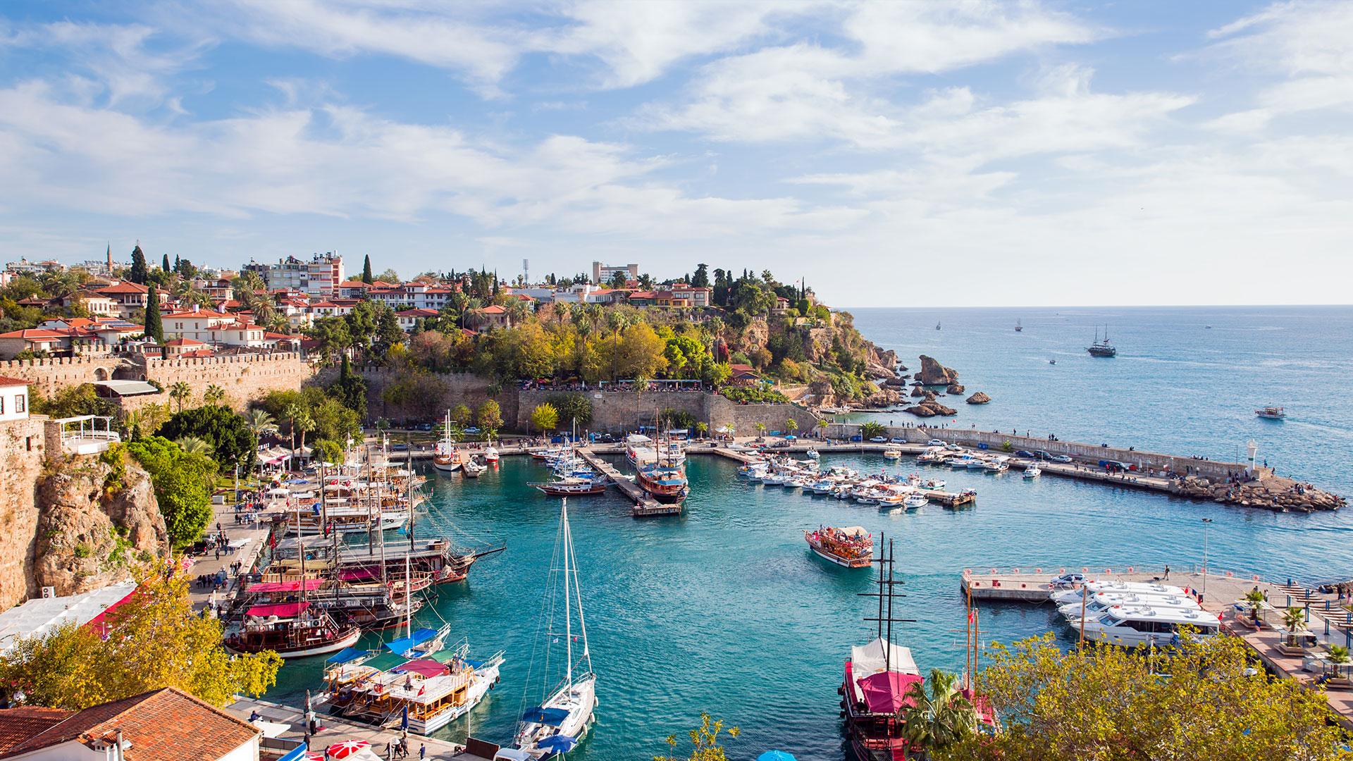Antalyada Hafta Sonu Tatili