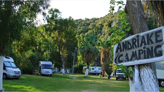 Antalyada Kamp Alanları